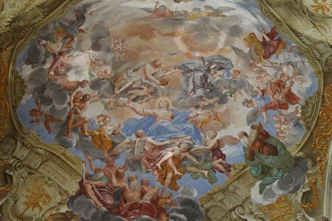 Volta del presbiteri del Santuari de Nostra Senyora de la Costa de Sanremo