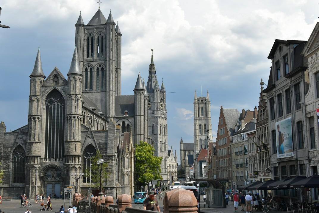 Gant - Ruta per França i Bèlgica