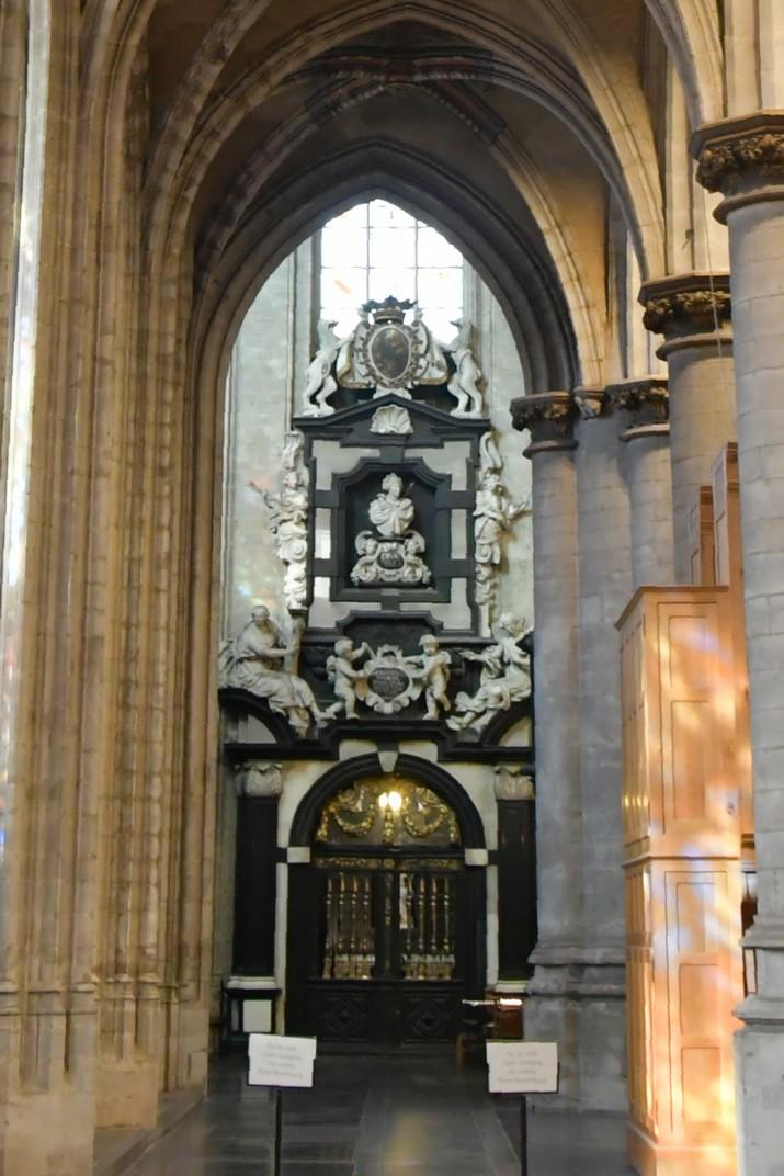 Capella de Santa Úrsula de l'església de Nostra Senyora del Sablon de Brussel·les