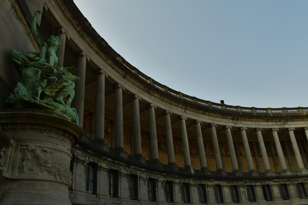 Galeria de l'Arc de Triomf del Parc del Cinquantenari de Brussel·les