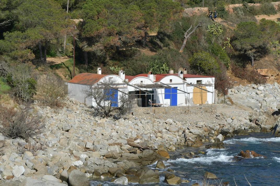 Cala del Polvorí de s'Alguer de Palamós