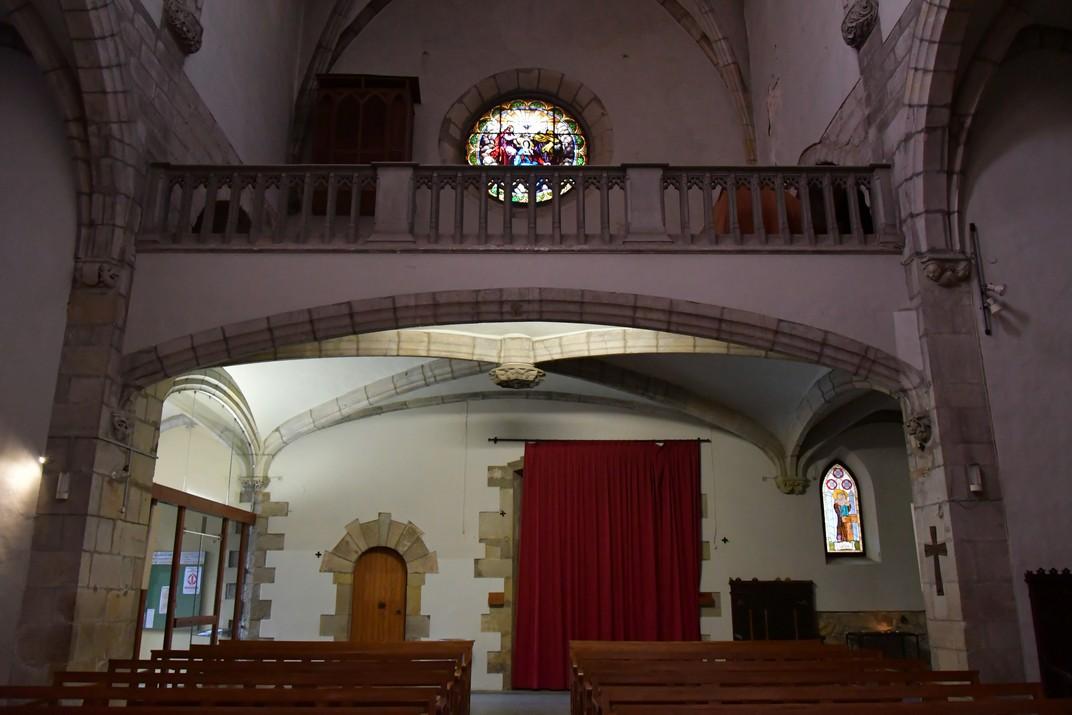 Cor alt de l'església de Santa Maria de Palamós