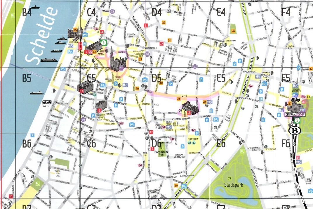 Plànol d'Anvers