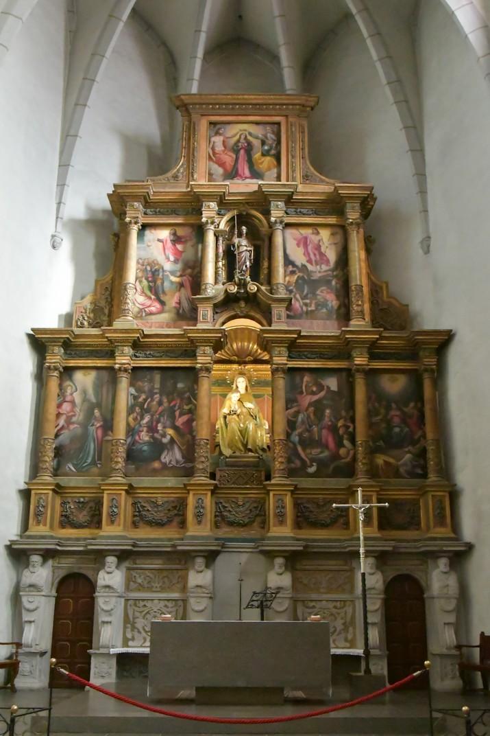 Retaule de l'església de Santa Maria de Palamós