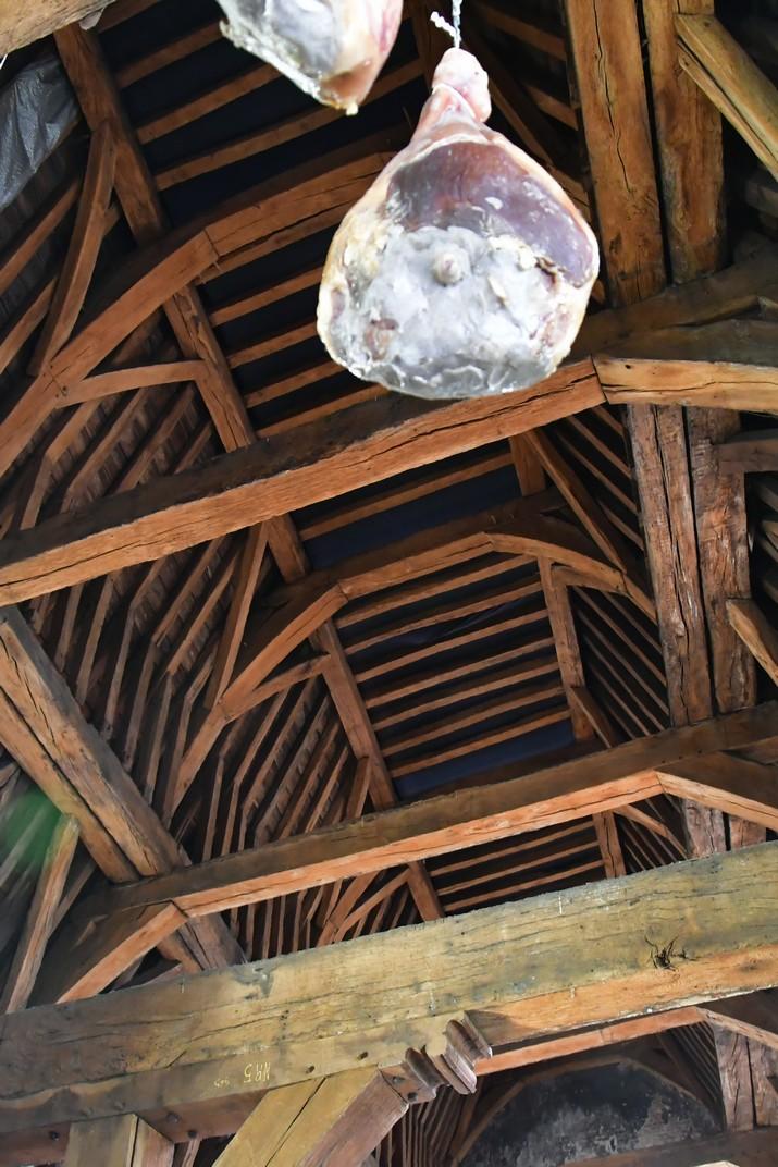 Interior de la Llotja de la Carn de Gant