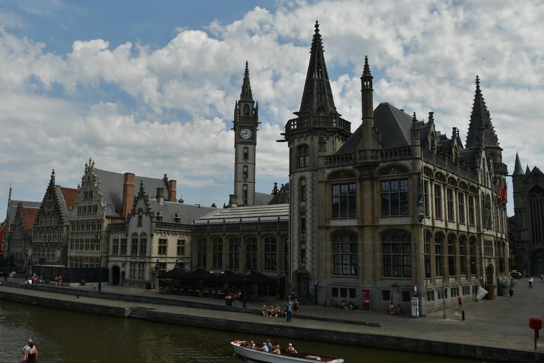 Plaça del Mercat del Gra de Gant