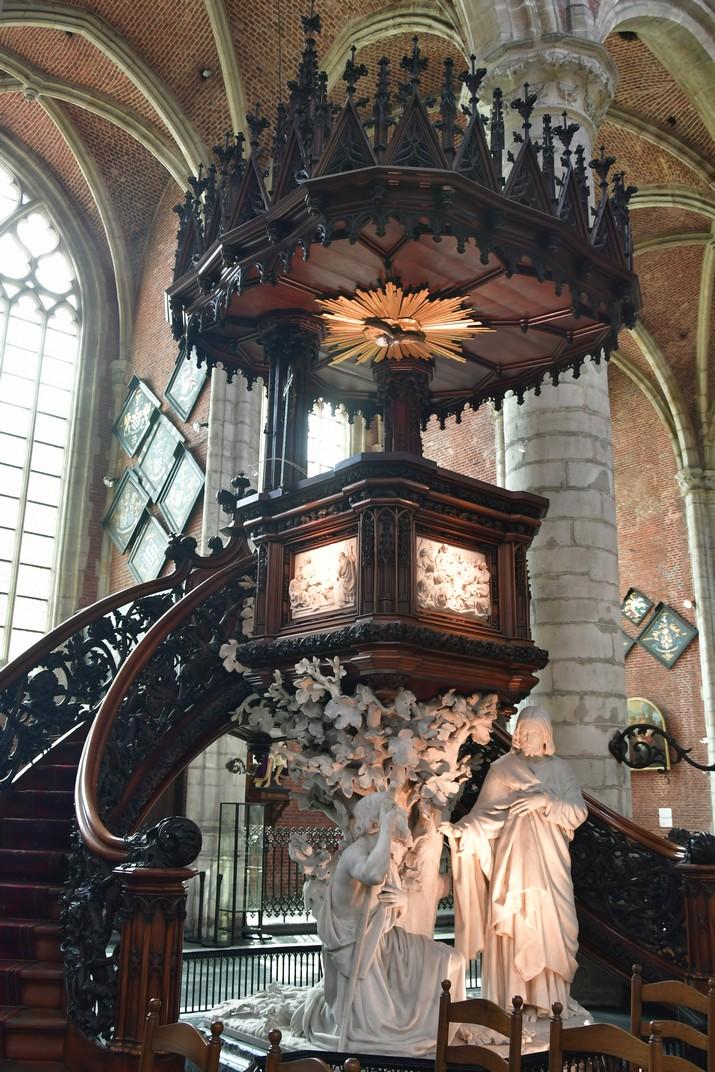 Púlpit de l'església de Sant Miquel de Gant