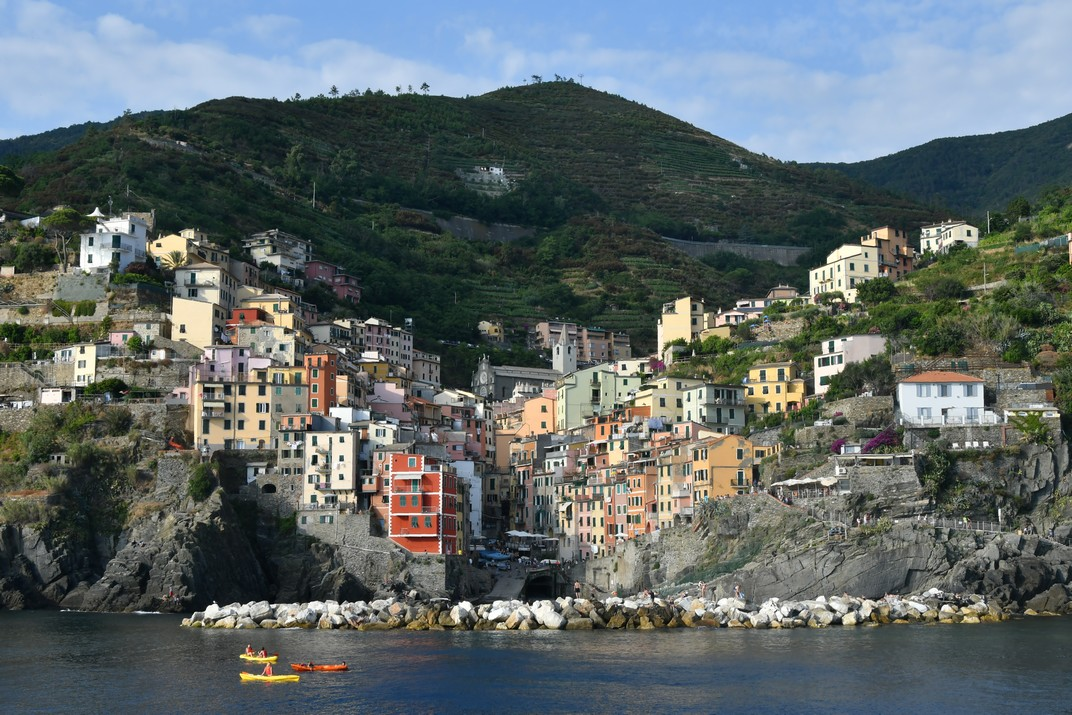 Ruta per Ligúria i Vèneto d'Itàlia - Les Cinc Terres - Riomaggiore