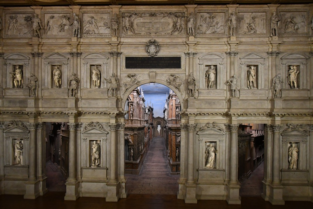 Ruta per Ligúria i Vèneto d'Itàlia - Vicenza