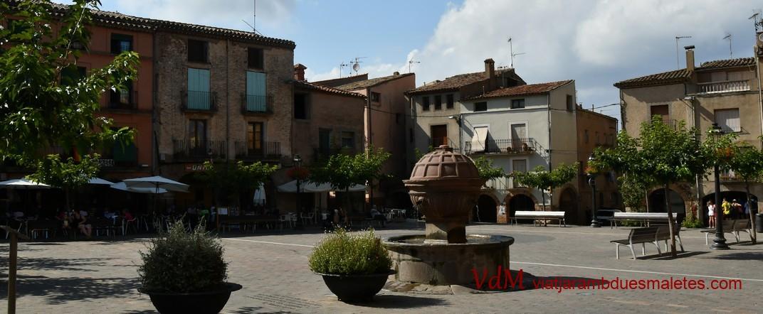 Font de la plaça Major de Prades