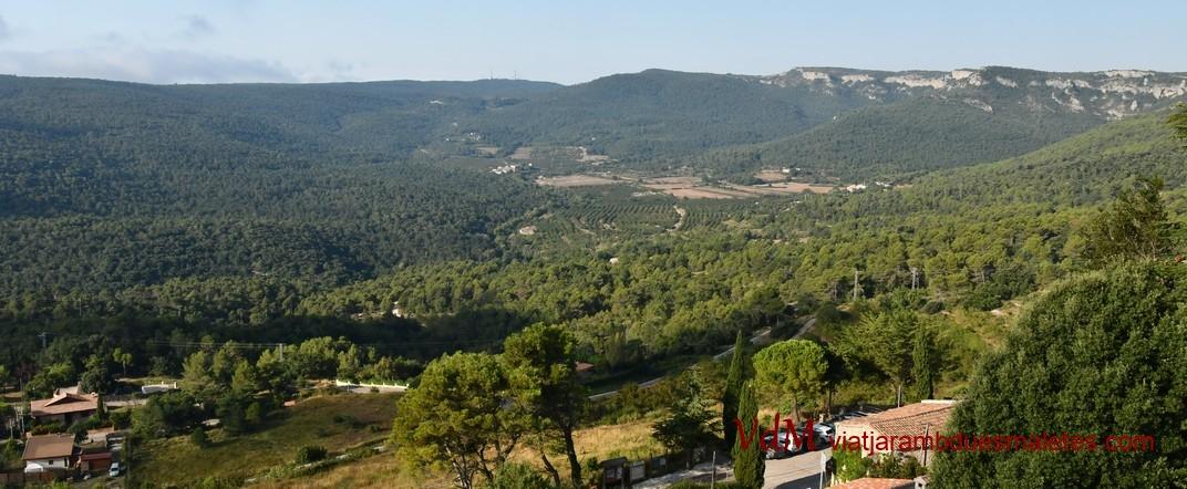 Mirador de Mont-ral de les Muntanyes de Prades