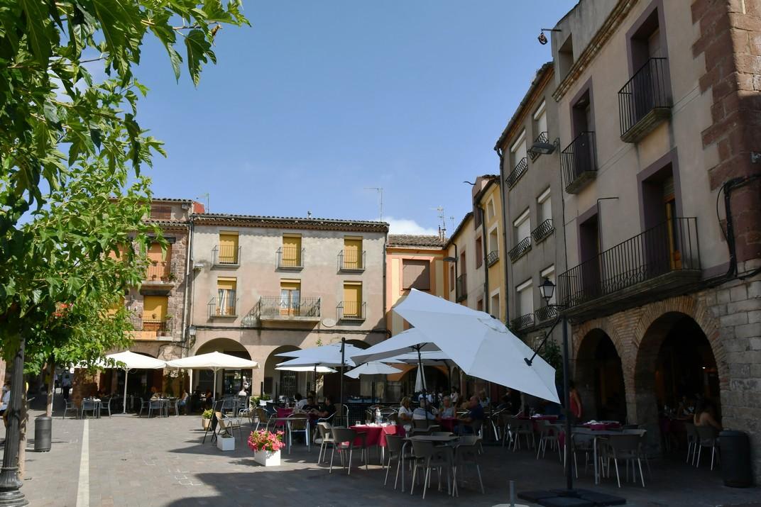 Porxos de la plaça Major de Prades