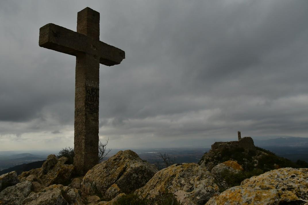 Creu del Cap de la Serra del Montmell