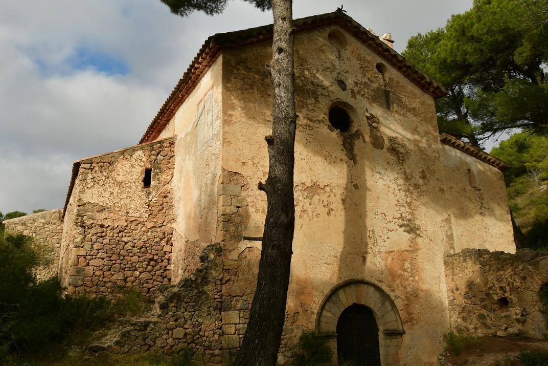 Entrada església Nova de Sant Miquel del Montmell