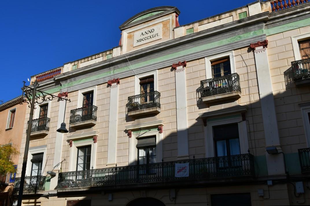 Casa Vilallonga de la plaça Gran de Mataró