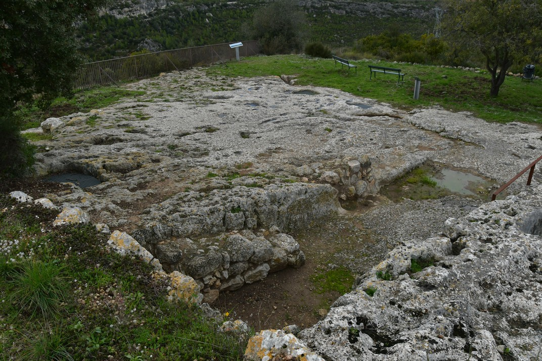 Celler medieval d'Olèrdola