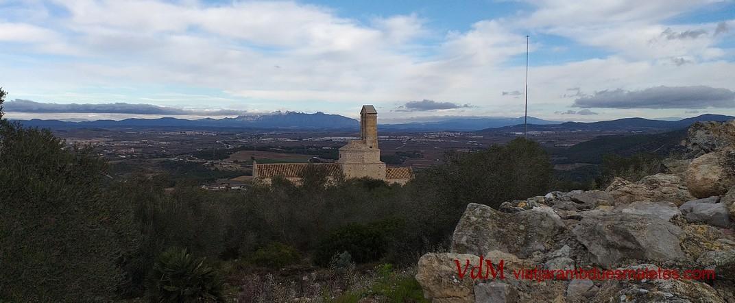 Cim de la muntanya de Sant Miquel d'Olèrdola