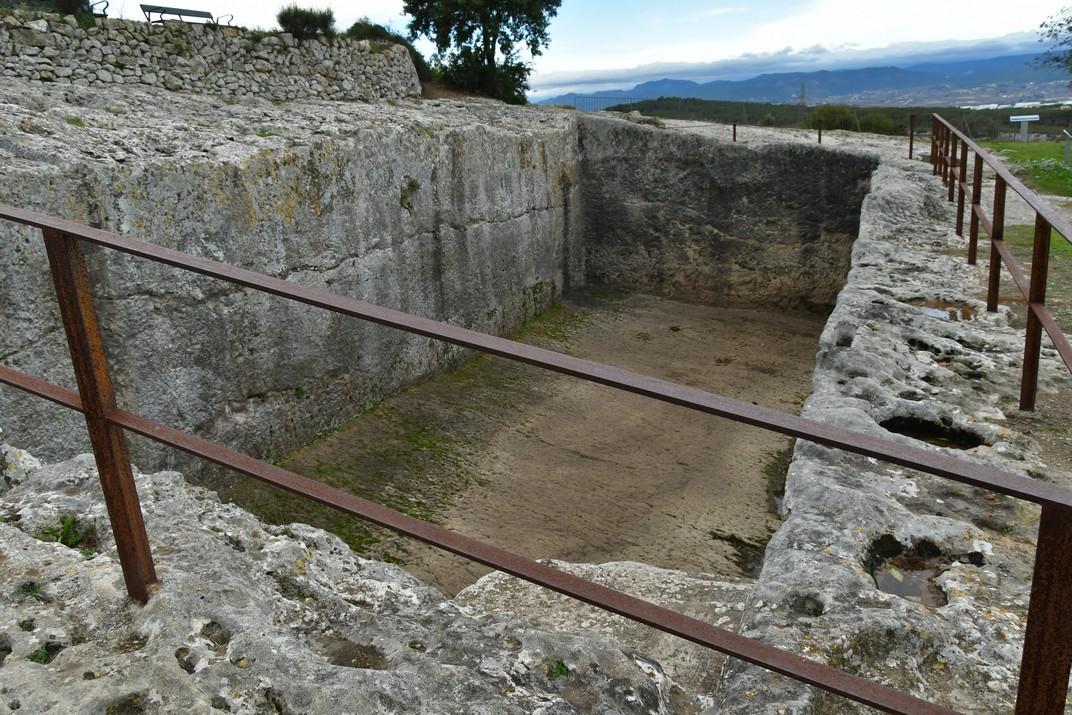 Cisterna romana d'Olèrdola
