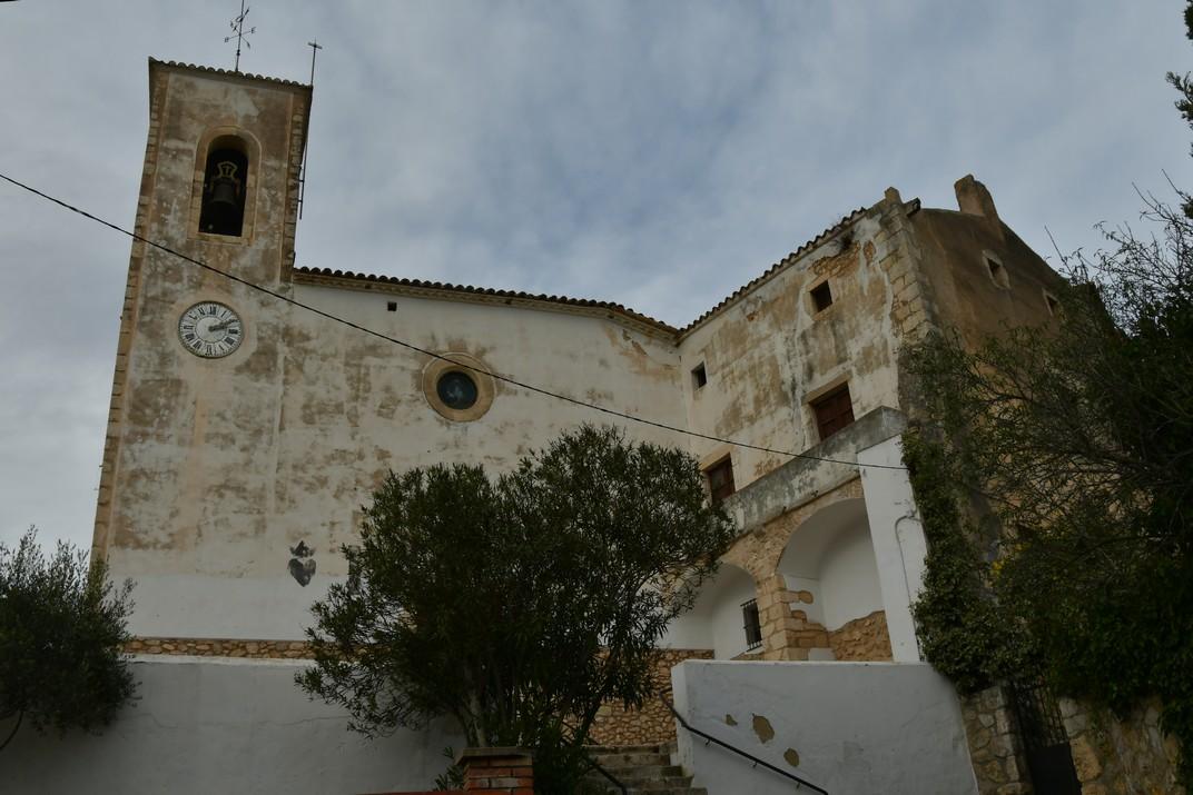 Església de Santa Magdalena de Canyelles - Parc d'Olèrdola