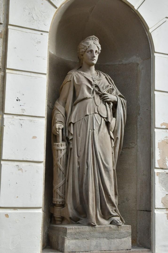 La Justícia de la Casa de la Ciutat de Mataró