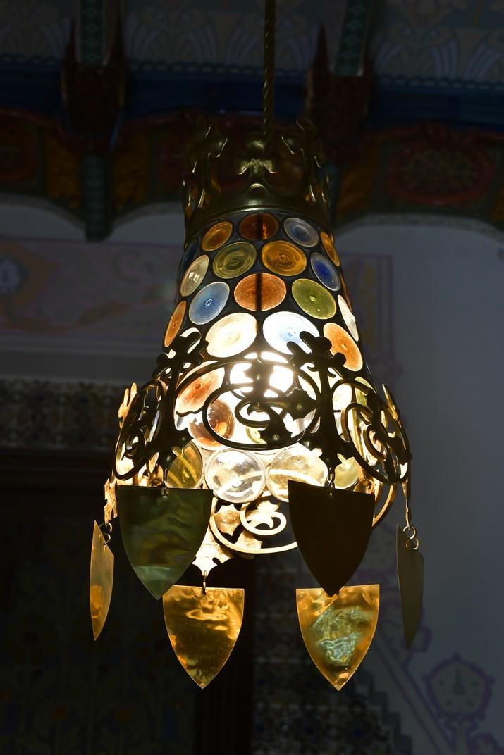 Llum de ferro de la Casa Coll i Regàs de Mataró
