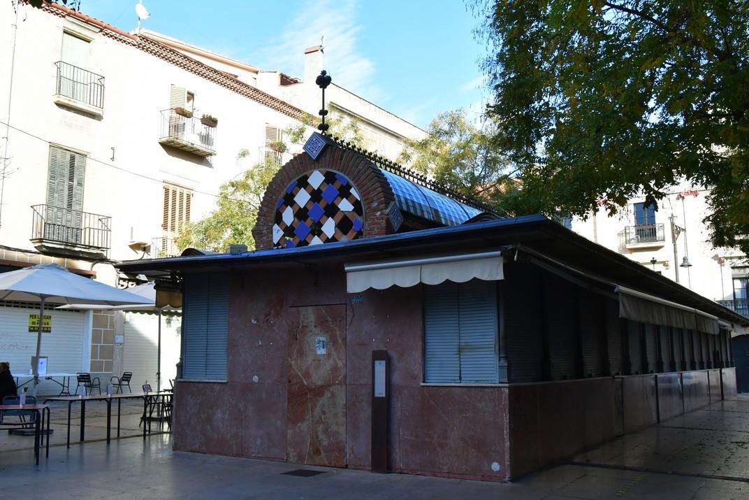 Mercat del Rengle de la plaça Gran de Mataró