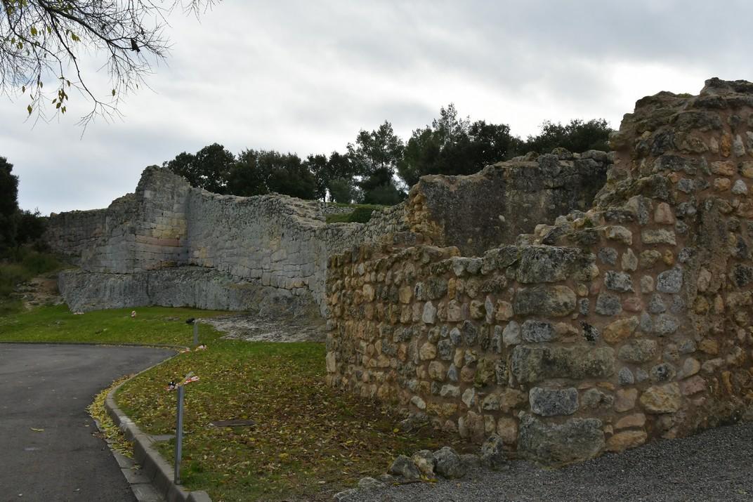 Muralla romana d'Olèrdola