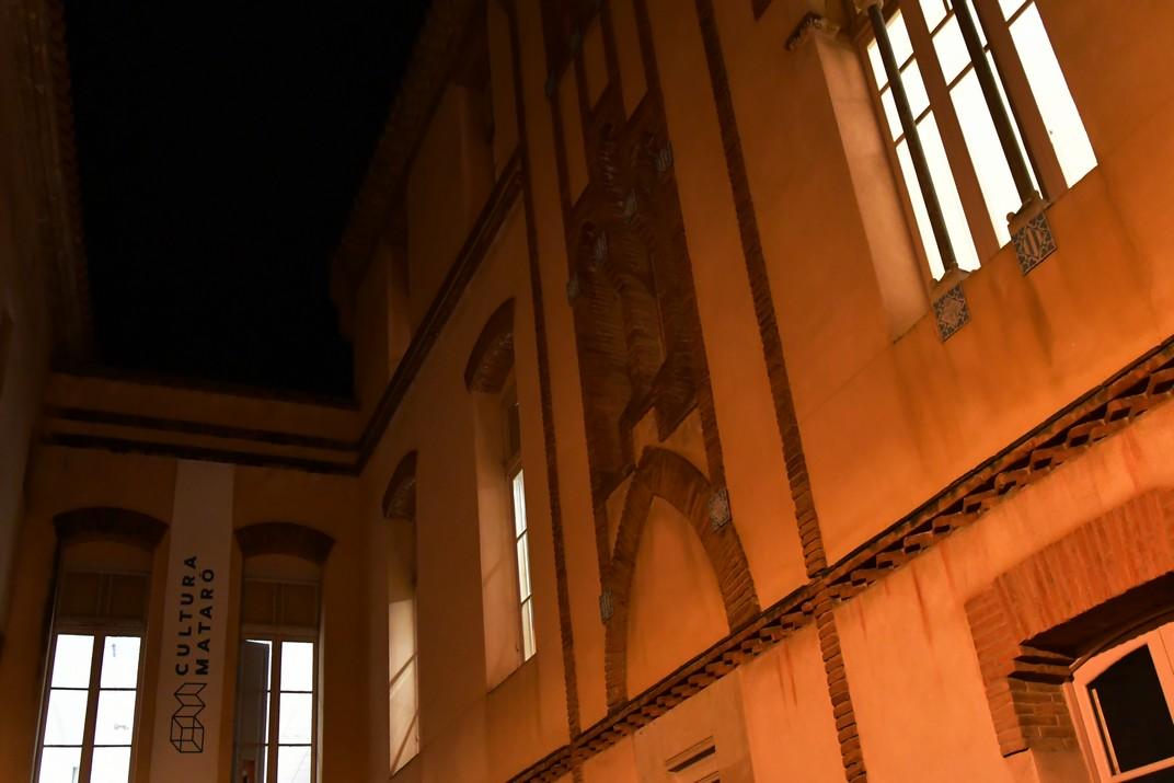 Pati de la Casa de Beneficència de Mataró