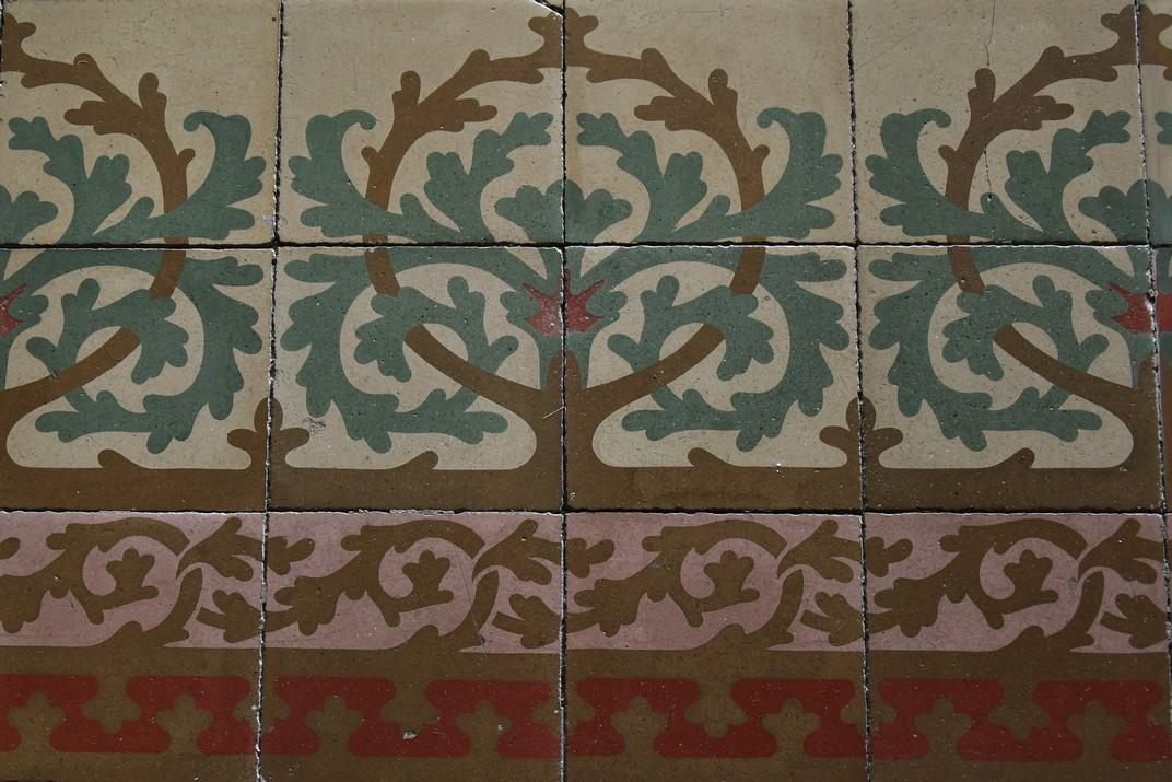 Paviment de la Casa Coll i Regàs de Mataró