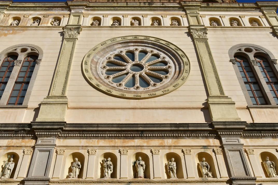 Rosassa de la basílica de Santa Maria de Mataró