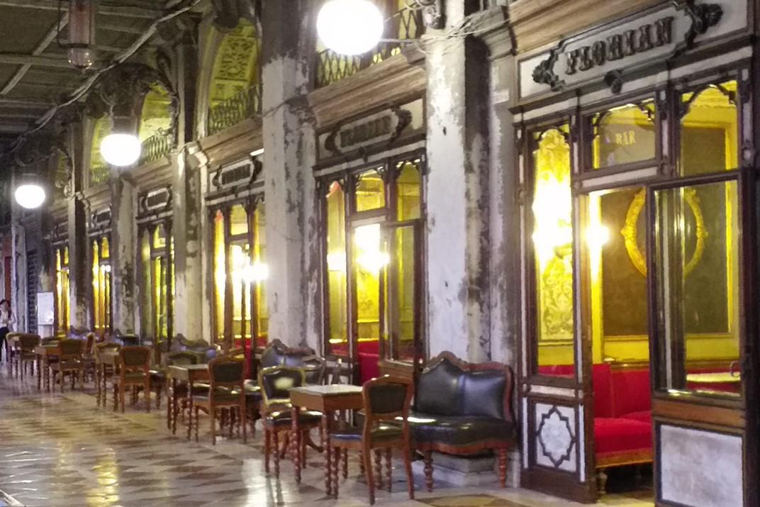 Cafè Florian de la plaça de San Marco de Venècia