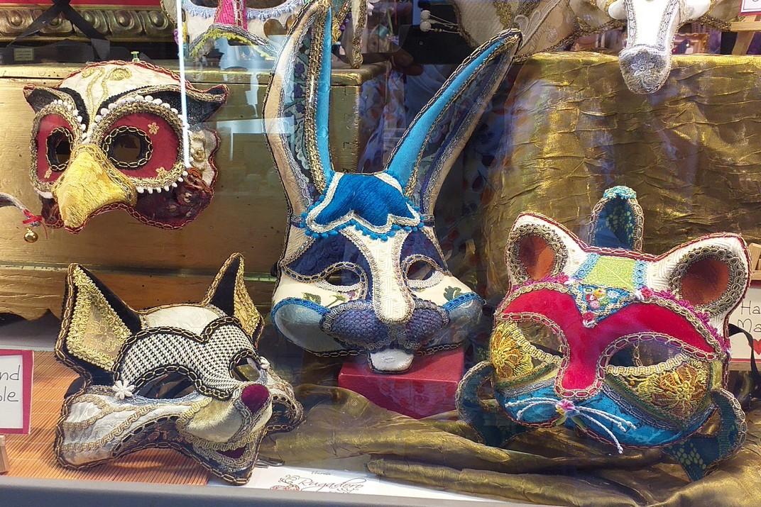 Màscares d'animals del Carnaval de Venècia