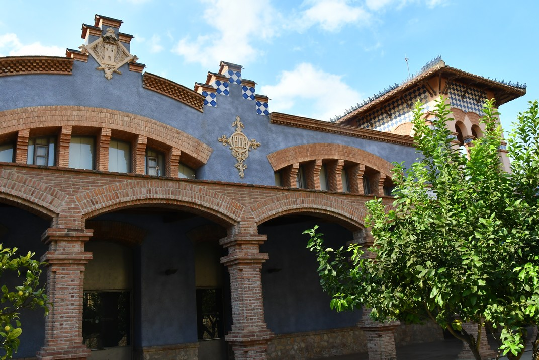 Entrada de l'antic Escorxador de Tortosa
