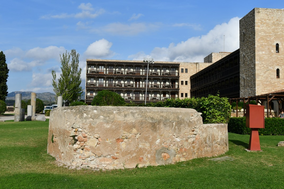 Pou del Castell de la Suda de Tortosa