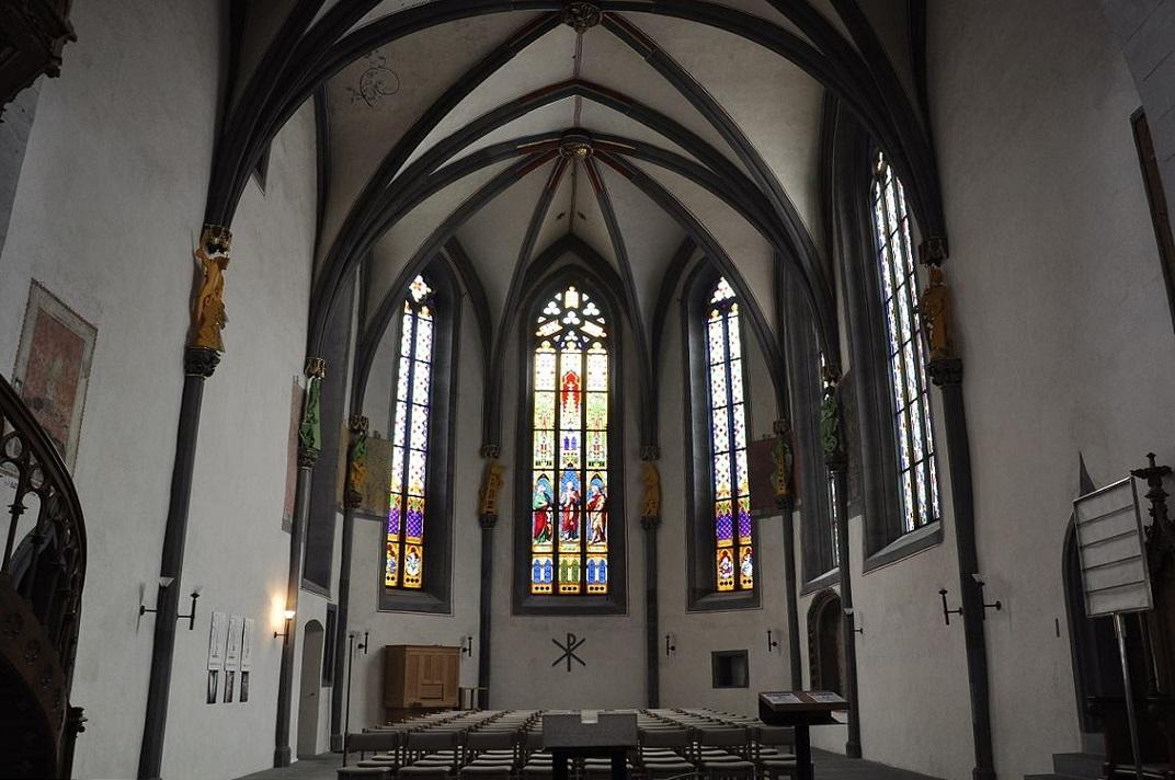 Absis de l'església de Sant Joan de Schaffhausen