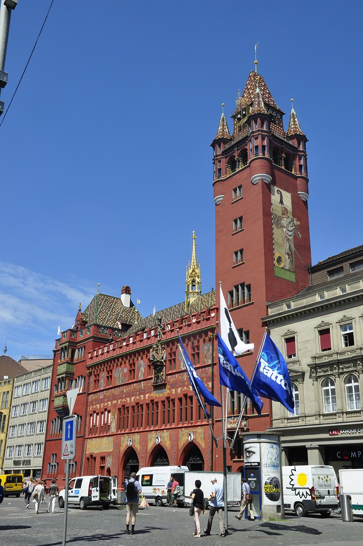 Ajuntament de la plaça del mercat de Basilea