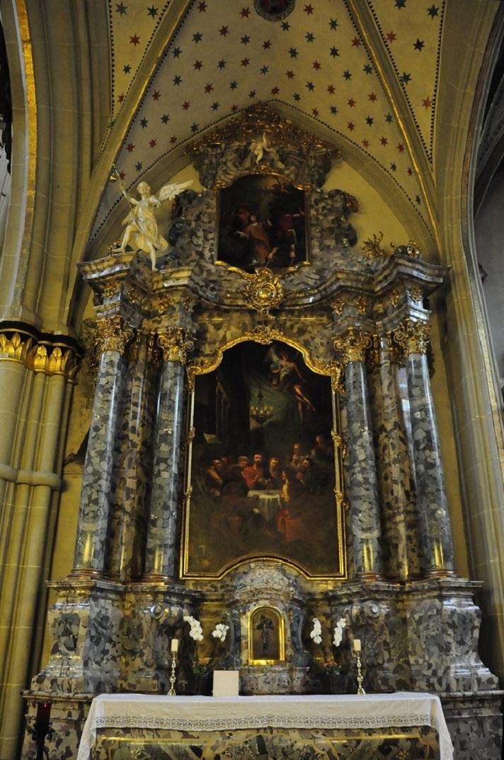 Altar de l'Últim Sopar de la Catedral de Friburg