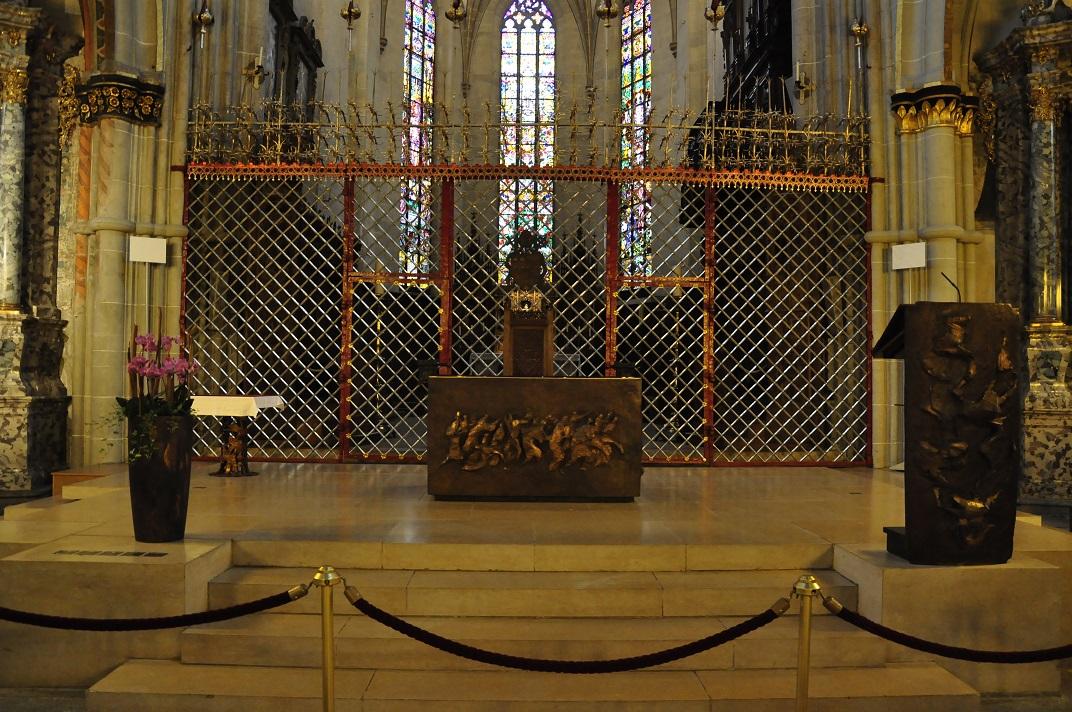 Altar de Sant Nicolau de la Catedral de Friburg