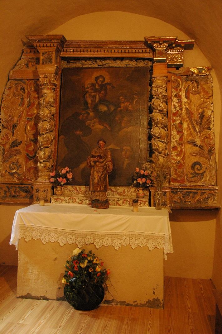 Altar major de l'església de Sant Fèlix de Bagergue