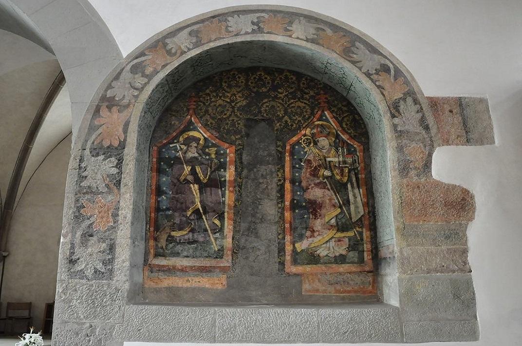 Antics murals de l'església de Sant Joan de Schaffhausen