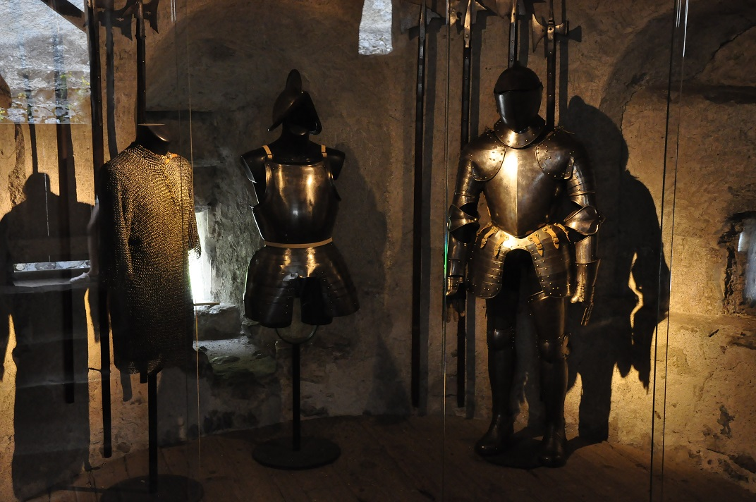 Armadures del castell de Chillon