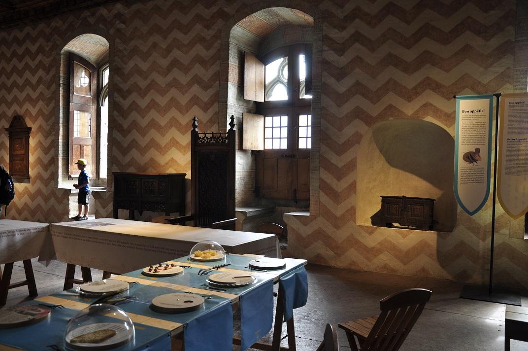 Aula Nova del castell de Chillon