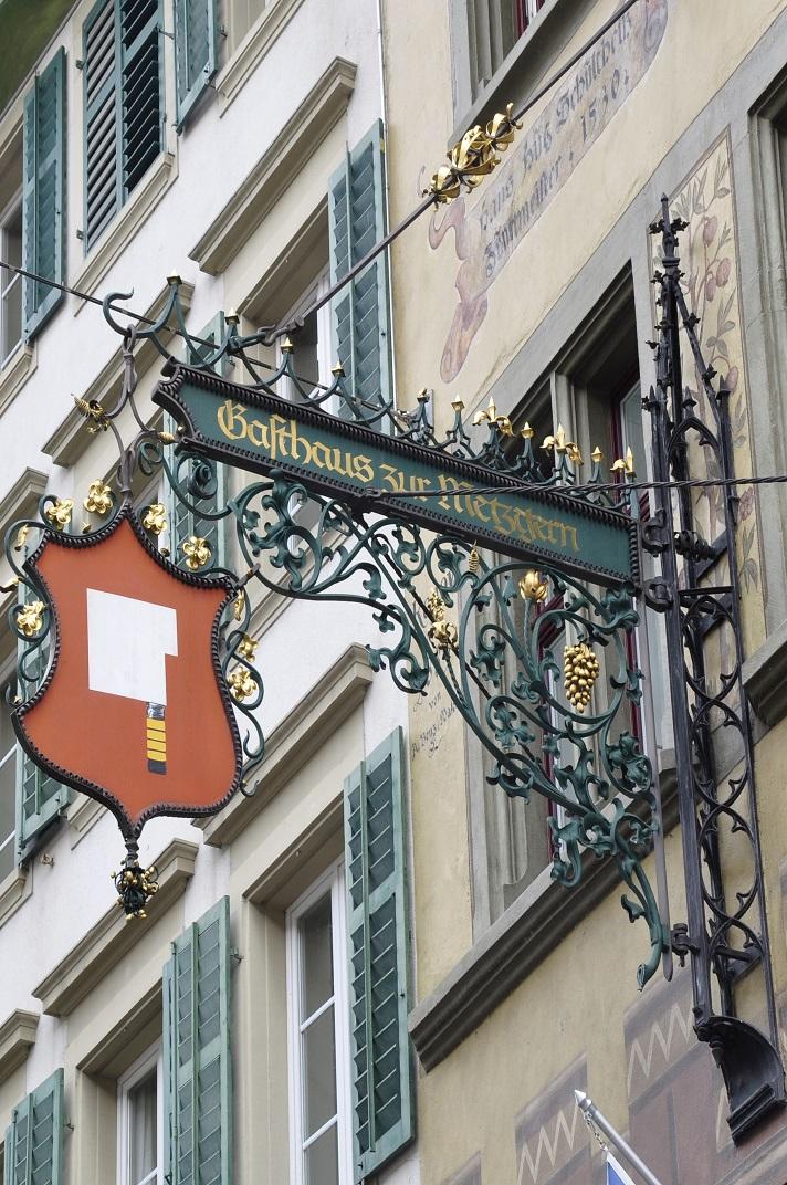 Banderola de casa gremial de Lucerna