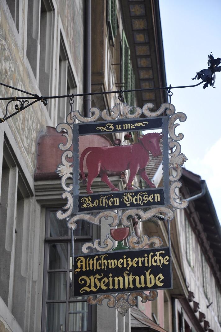Banderoles del carrer principal de Stein-am-Rhein