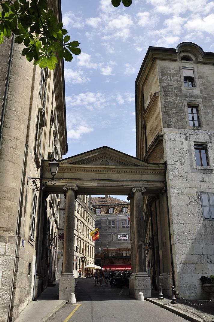 Barri antic de Ginebra