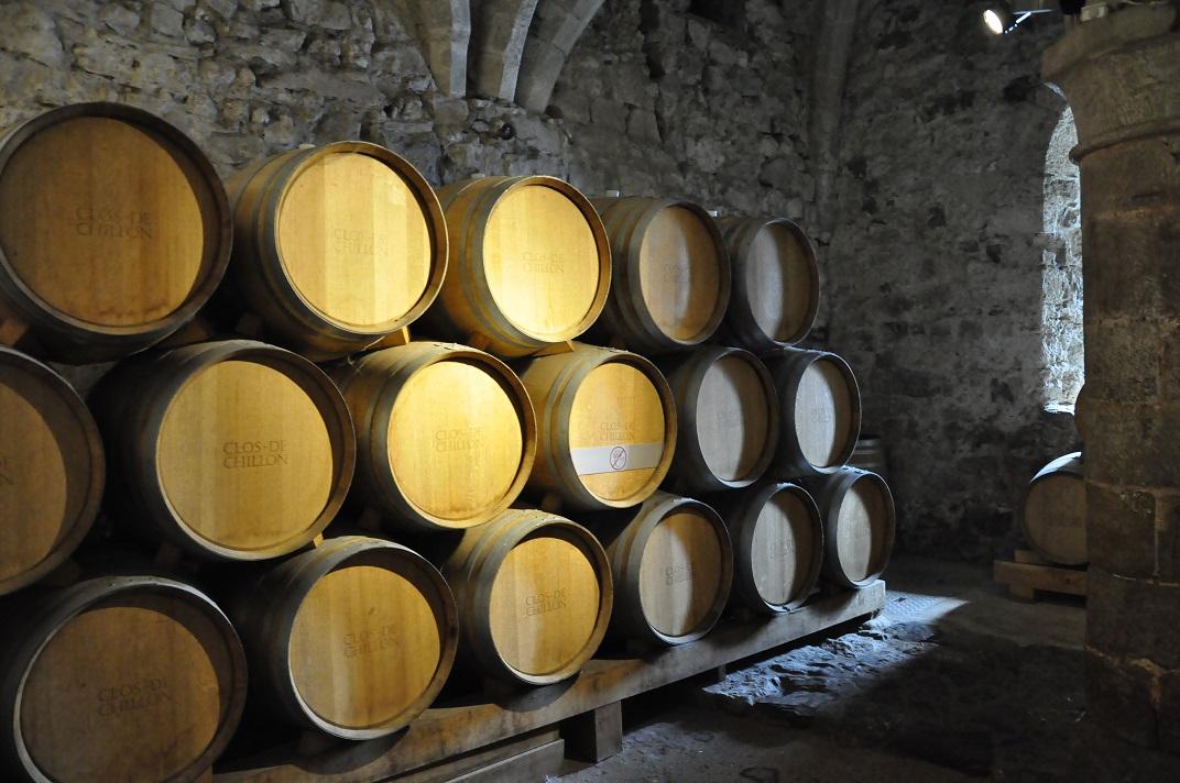 Bodega del castell de Chillon