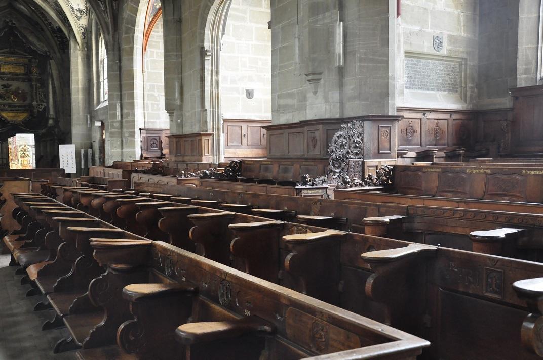 Cadirat de la Catedral de Berna
