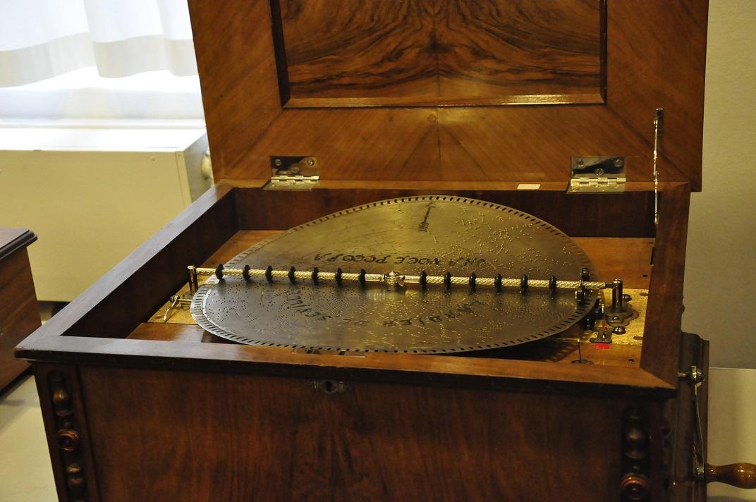 Caixes de música del museu de la Sainte-Croix