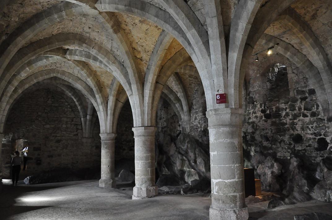 Càmeres subterrànies del castell de Chillon