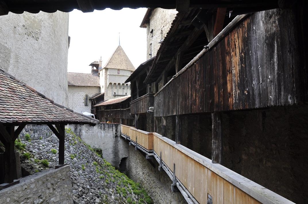 Camí de ronda del castell de Chillon